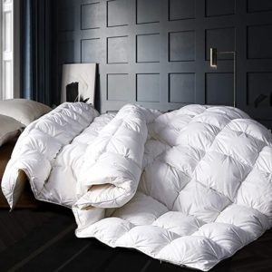 Alanzimo Goose Down Comforter - Best All Season Bedding Set in 2021