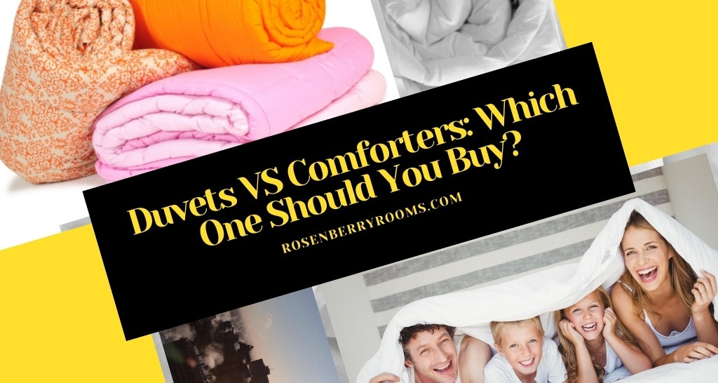 Duvet VS Comforter: Which One Should You Buy?
