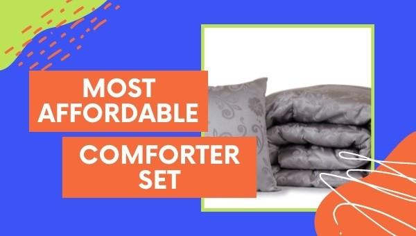 Most Affordable Comforter Sets (2021)